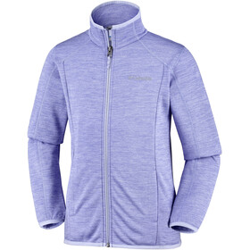 Columbia Wilderness Way Fleece Jacket Kinder periwinkle